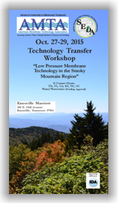 AMTA/SEDA Joint Technology Transfer Workshop - Oct. 27-29, 2015 - Knoxville, TN @ Knoxville | Tennessee | United States