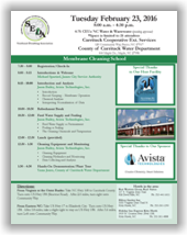 SEDA Membrane Cleaning School - County of Currituck, NC - February 23, 2016 @ Currituck Cooperative Ext. Services & County of Currituck Water Department | Barco | North Carolina | United States